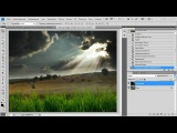Уроки Фотошопа. Эффект объёмного света