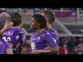 Фиорентина 3:0 Интер | Итальянская Серия А 2014/15 | 05-й тур HD