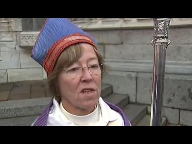 Забвение веры: шведская епископ-лесбиянка хочет снять кресты с церквей в угоду м...