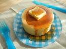100円シリーズ「分厚~いホットケーキ」「Thick Hotcakes」
