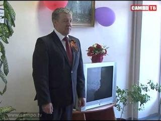 9 мая Глава Карелии поздравил пациентов госпиталя для ветеранов войн