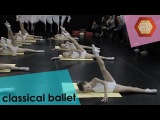 Урок по классическому танцу 1 класс дети - преподаватель Ольга Дроздова