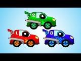 Мультфильмы про машинки: игры, гонки и калинка малинка - мультики для детей