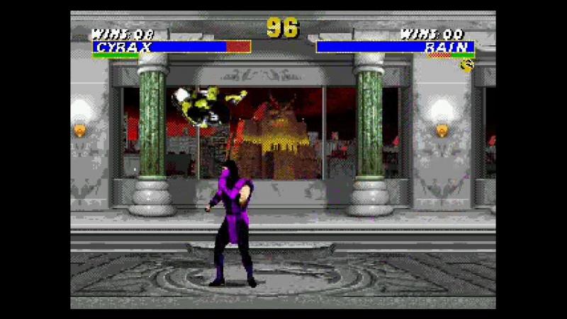 Mortal Kombat 3 Utimate Sega Mega Drive