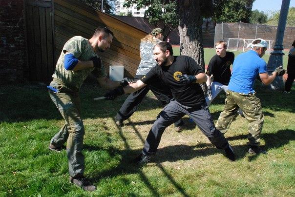 Ножевой бой С.П.А.С.- Открытая тренировка.