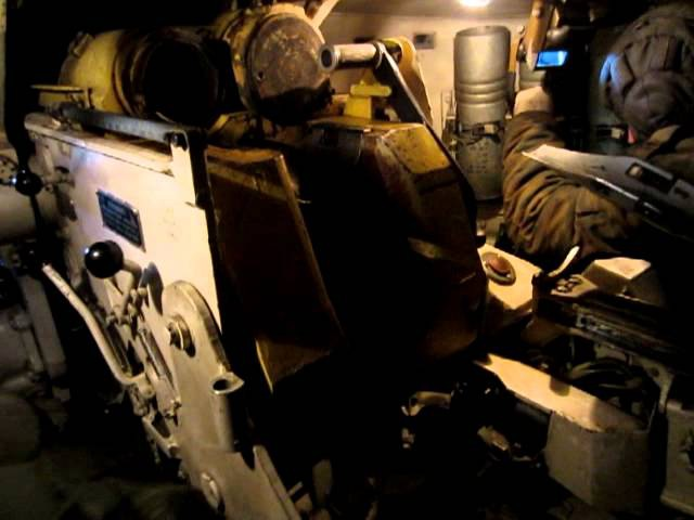 2С1 гвоздика. работа внутри орудия. Стрельба. russian marines