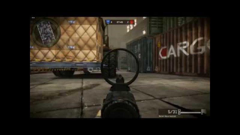 Warface PVP Ангар 1х1 Benelli nova tactical