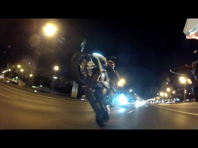 Ночной прокат с горы до кальянной на мотоциклах BMW, KTM и Yamaha