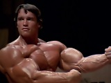 Arnold Schwarzenegger Bodybuilding Training - No Pain No Gain 2013