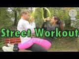 Streetworkout mit Anja Zeidler in Luzern - ProBro Fitness