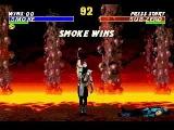 Mortal Kombat 3 Ultimate as Classic Smoke
