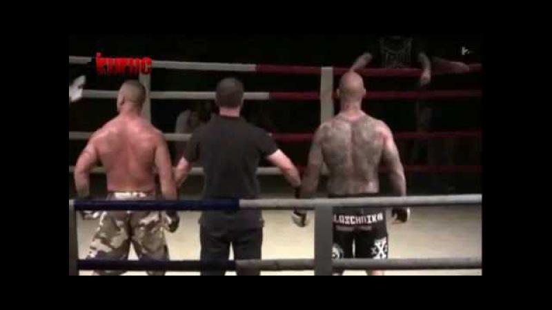 Botrány Csehországban a magyar ketrecharcos náci tetoválásai miatt (2013-05-16)