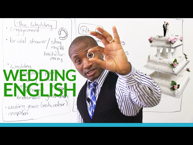 WEDDING MARRIAGE Vocabulary in English