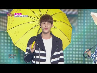 JJCC (feat. Lee jine) - On the Flower Bed @ Show Music core 18.04.2015