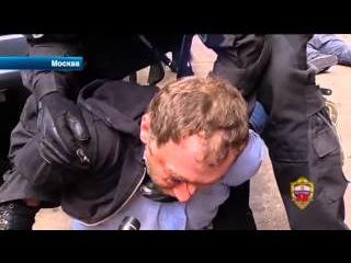 Задержанный в Москве разбойник