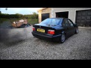 Bmw E36 2.5 TDS Exhaust Sound Evry Mod Full Straight Pipe 1080p HD