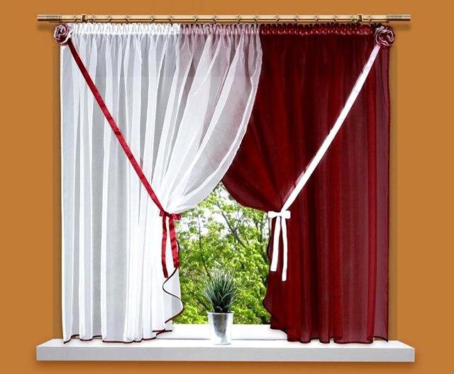 Как лучше повесить шторы
