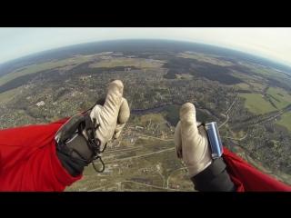 Тандем прыжок 01.05.2015г Гатчинский р-н, аэродром Сиверский