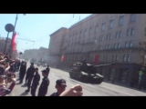 9 мая день победы на 1-й тверской ямской. с парада
