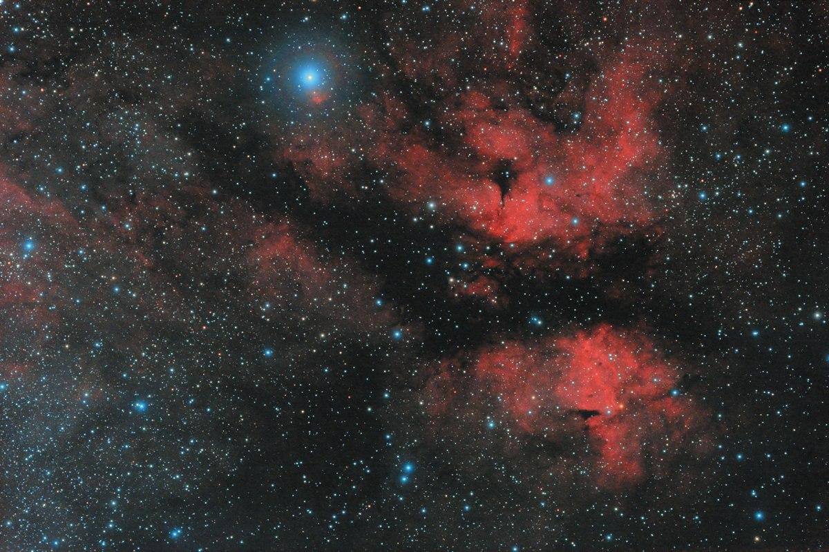Туманность IC1318