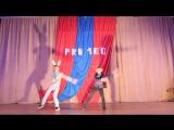 Танцы со спортсменами - Гацкий Денис и Нугманова Елена Николаевна (3 смена 2015 год)