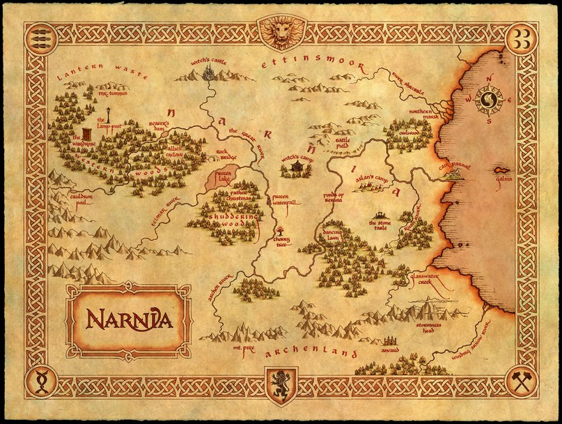 Купить постер Хроники Нарнии