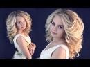 Объёмные локоны | Авторские причёски | Лена Роговая