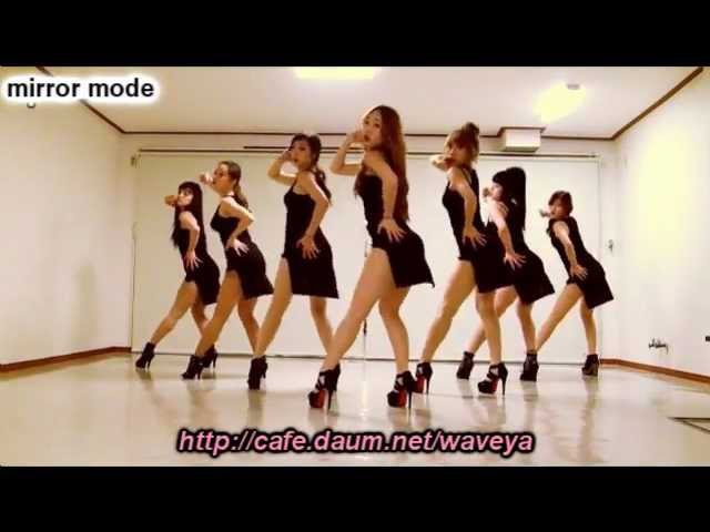 Mirrored - Sistar Alone dance by Waveya 웨이브야 -씨스타 나혼자 안무
