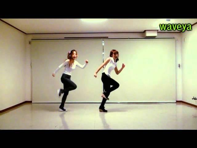 T-ara lovey dovey mirror mode 러비더비 Waveya Ari MiU 웨이브야 아리미유 kpop cover dance