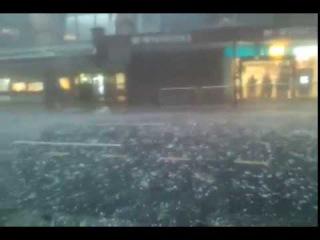 WOW! Incredible Hail Storm in Brisbane, AU | 27-11-2014