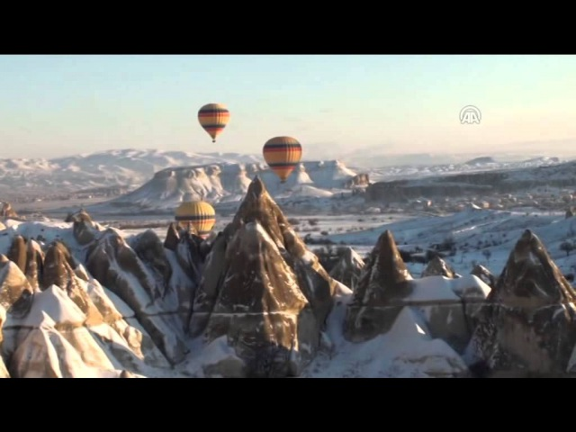 Anadolu Ajansı - Kapadokya'da 4 mevsim balon turu