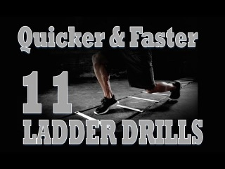 How To: Get Quicker & Faster Using The Ladder | 11 Ladder Speed Drills | Pro Training