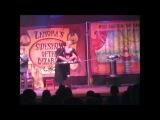 Miss Electra's Sword Ladder, and Tesla Coil Lightning Stunt! Halloween 2007