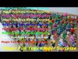 Распаковка Киндер Сюрприз видео на Русском, огромное количество игрушек Kinder Surpriz,яйца киндер