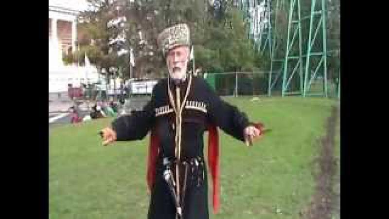 Олег Иванович Яцына работа с кинжалами
