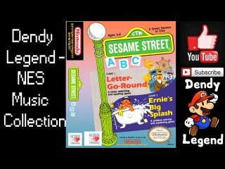 Sesame Street NES Music Song Soundtrack - Title Theme [HQ] High Quality Music