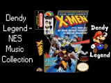 The Uncanny X-Men NES Music Song Soundtrack - Game Over HQ