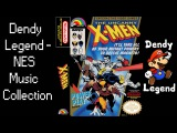 The Uncanny X-Men NES Music Song Soundtrack - Battle Through a Living Starship HQ