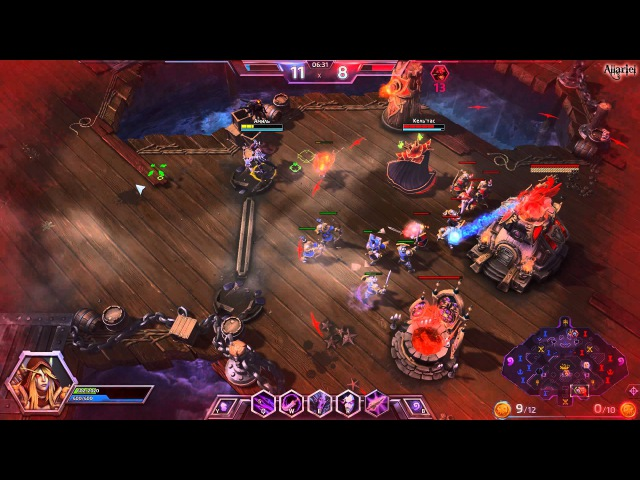 Let's play - Heroes Of The Storm - Sylvanas Gameplay Walkthrough 77 - No Commentary