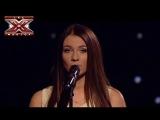 Дарья Ковтун - Снег - Елена Ваенга - Гала-концерт - Х-фактор 4 - 04.01.2014