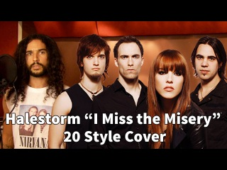Halestorm - I Miss The Misery | Ten Second Songs 20 Style Cover