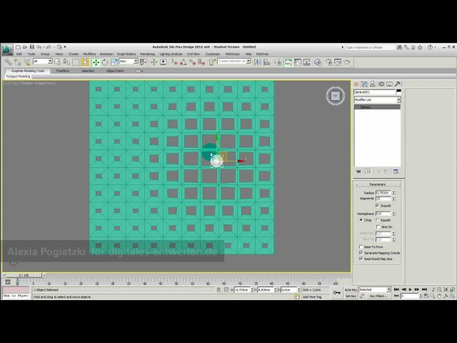 Volume Select and Morpher Modifier in 3ds max