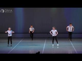 Детский Акробатический рок-н-ролл от DIVA Studio, рук. Владислав Логвин