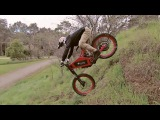 Jarryd McNeil's first run on the Stealth B-52 electric bike from Stealth Electric Bikes.