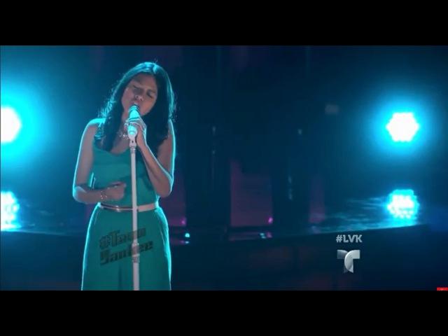 Голос: Дети. Эпизод 11: Samantha Ríos поет 'Who's Loving You' во второй части финала