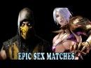 Scorpion (Mortal Kombat 10) X Ivy (Soul Caliber 4) Epic Sex Matches エピックセックス一致 Art Process