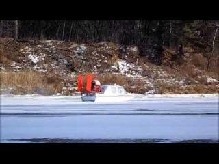 Зимняя рыбалка на протоке Волги -