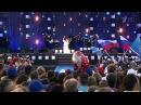 Дина Гарипова. Премьера песни Россия . 08.07.2015. Муром.