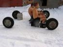 Авто приколы зима Auto fun