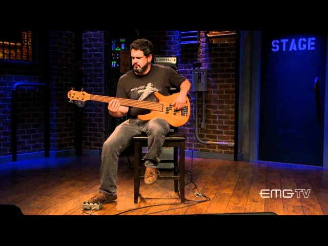Joe Lester of Intronaut plays Australopithecus solo on EMGtv